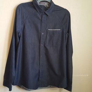 Toad & Company chambray mens shirt sz M